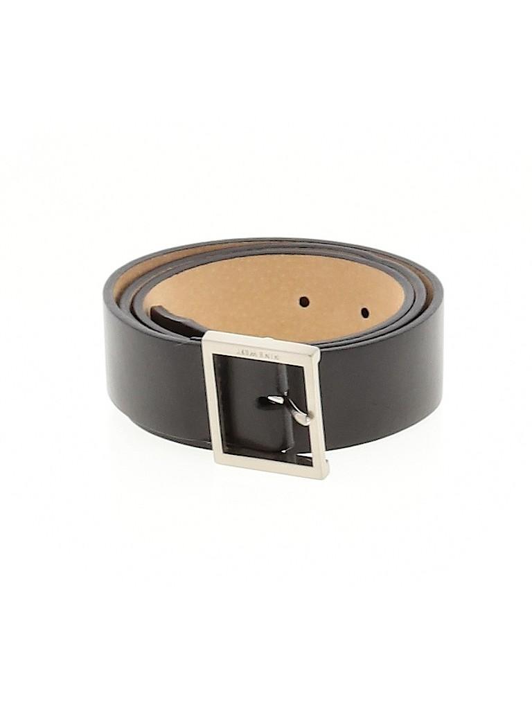 Nine West Women Leather Belt Size M