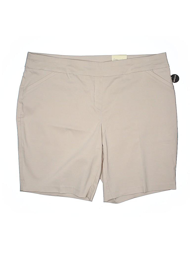 Studio Works Women Shorts Size 24W (Plus)