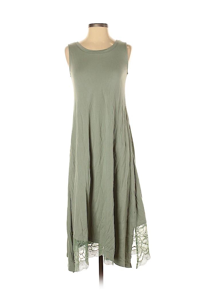LOGO by Lori Goldstein Women Casual Dress Size XXS