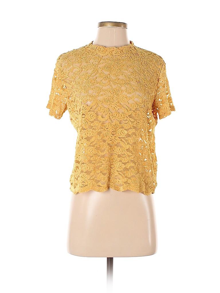 Bershka Women Short Sleeve Top Size M