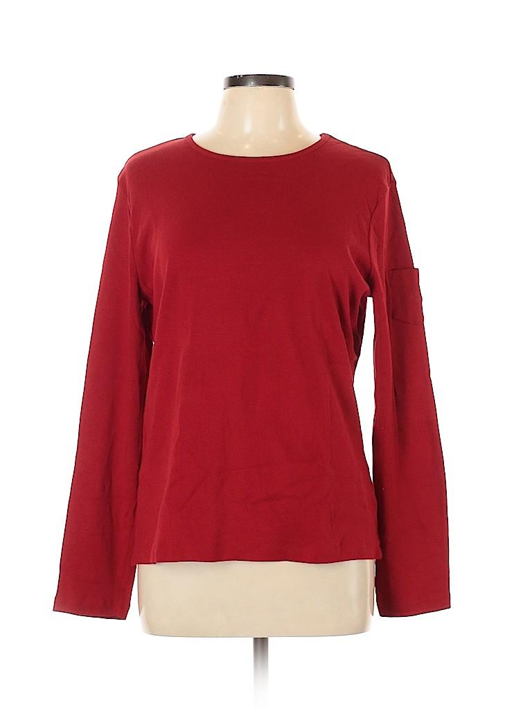 Lauren by Ralph Lauren Women Long Sleeve T-Shirt Size XL