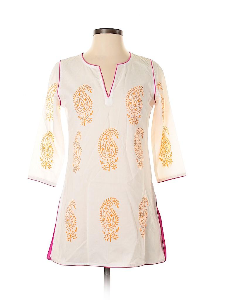 Gretchen Scott Designs Women 3/4 Sleeve Blouse Size XXS