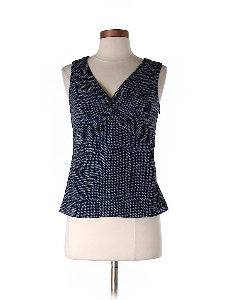 Ann Taylor LOFT Women Sleeveless Blouse Size 0 (Petite)