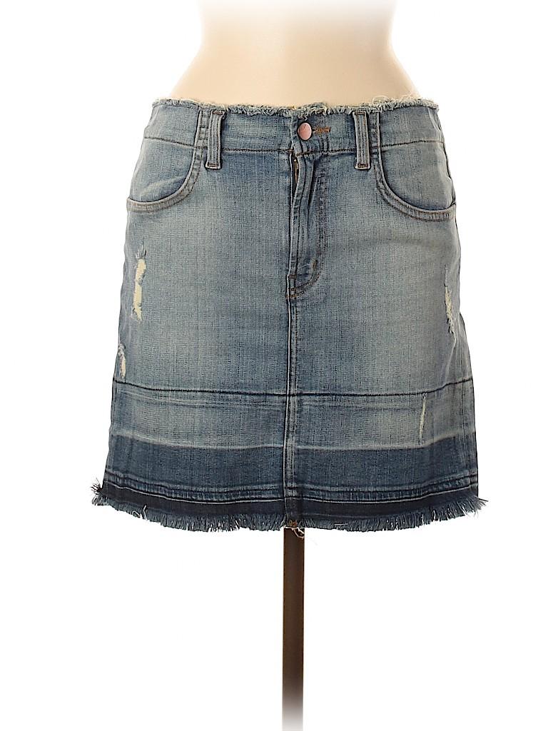 J Brand Women Denim Skirt 28 Waist