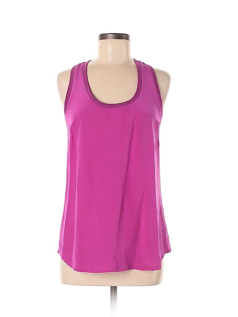 Joie Women Sleeveless Silk Top Size M