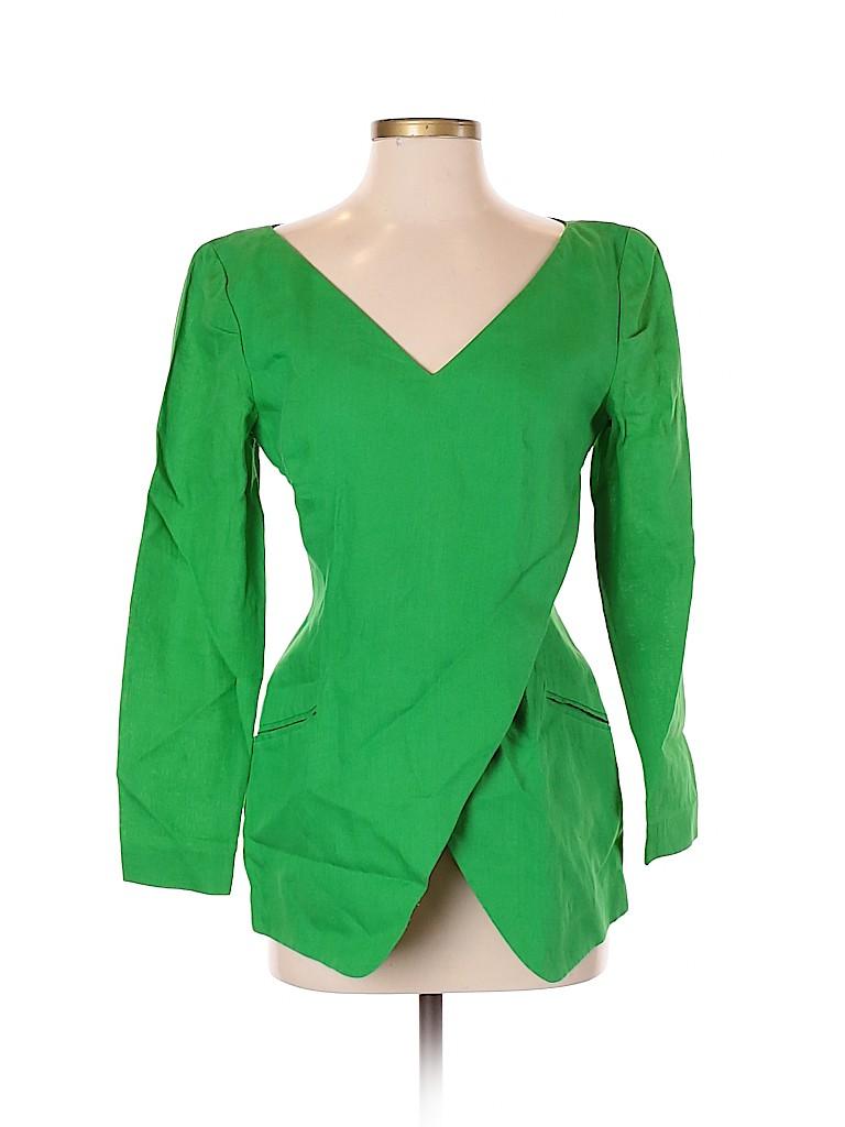 Donna Karan New York Women Long Sleeve Blouse Size 4