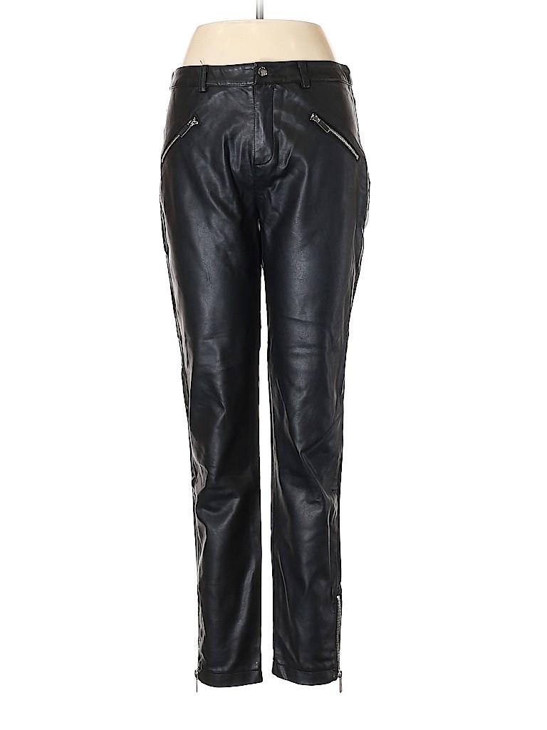 TOBI Women Faux Leather Pants Size M