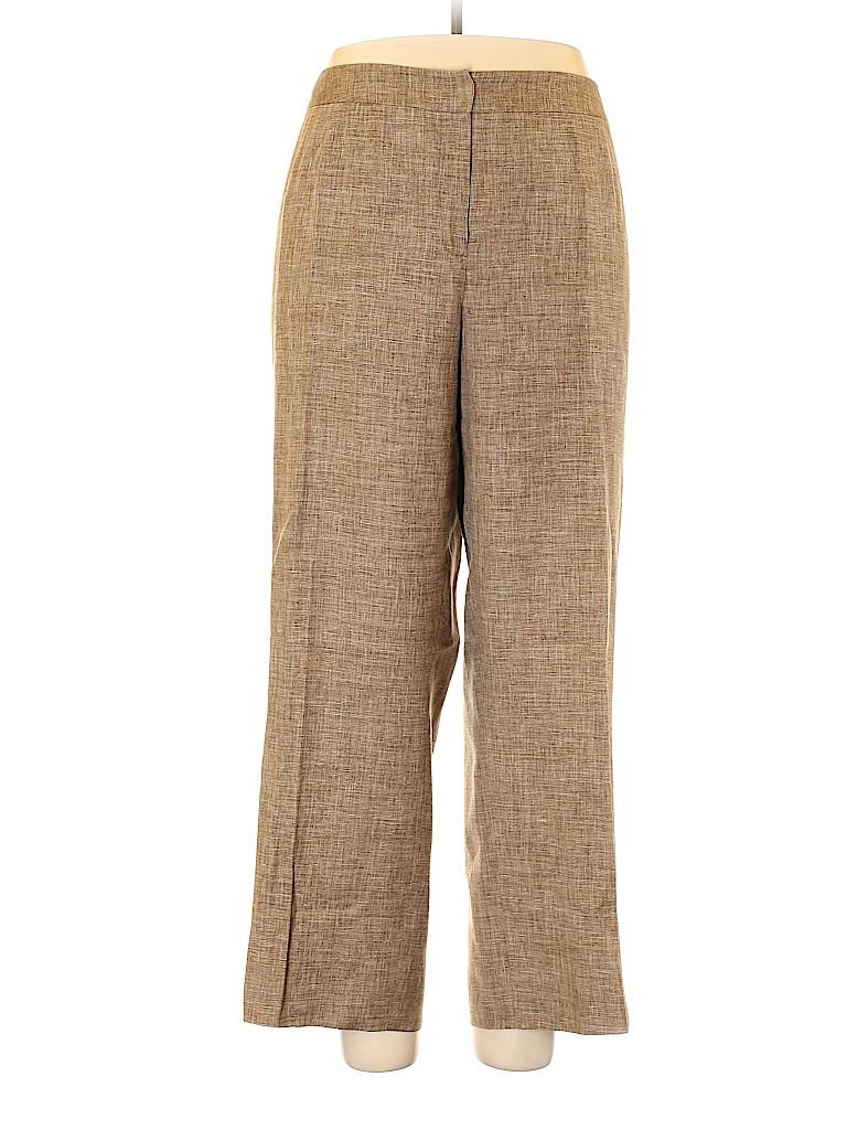 Lafayette 148 New York Women Casual Pants Size 18 (Plus)