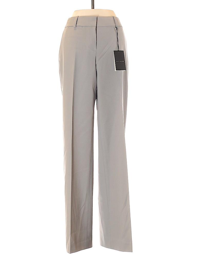 Ann Taylor Women Wool Pants Size 0 (Petite)