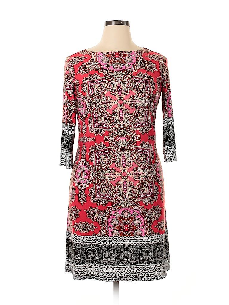 Wisp Women Casual Dress Size 14 (Petite)