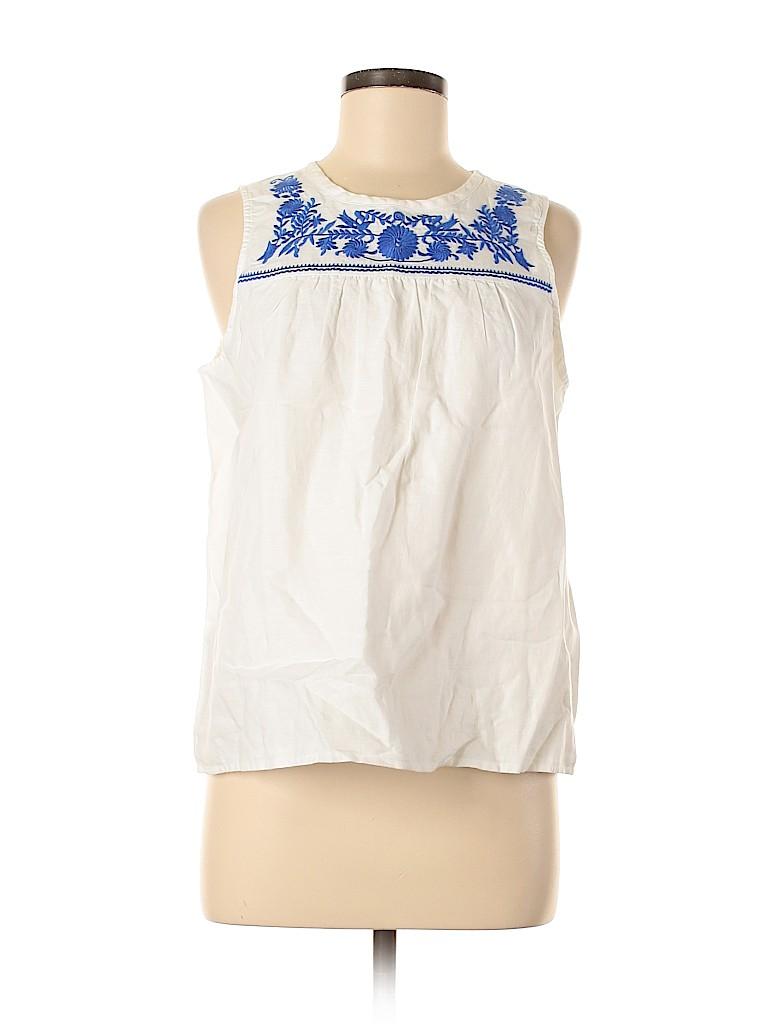J. Crew Factory Store Women Sleeveless Blouse Size 6