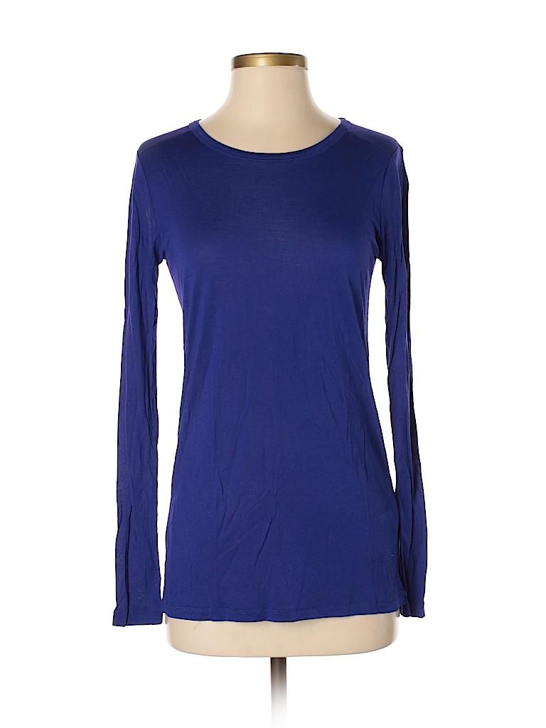 Hi-Line Women Long Sleeve T-Shirt Size S