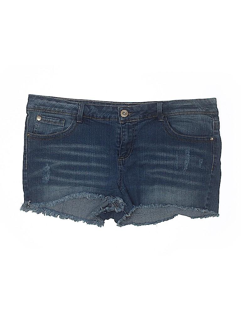 Glo Women Denim Shorts Size 17