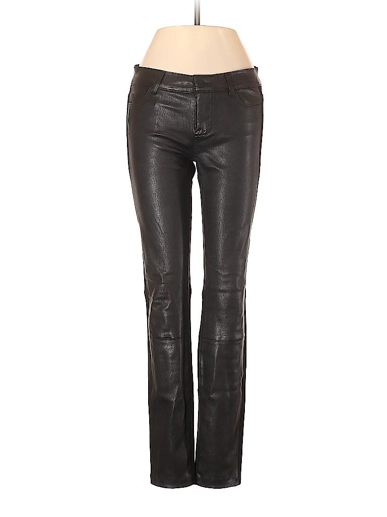Vince. Women Leather Pants Size 0