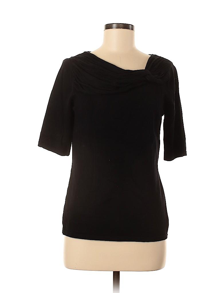 Adrienne Vittadini Women 3/4 Sleeve Top Size M