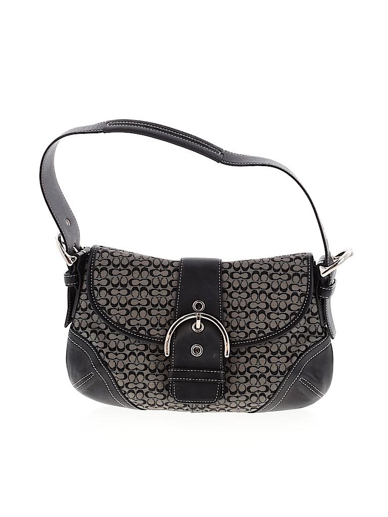 Coach Women Leather Shoulder Bag One Size