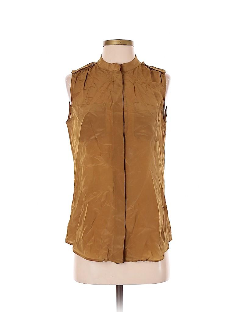 Banana Republic Women Sleeveless Silk Top Size 6