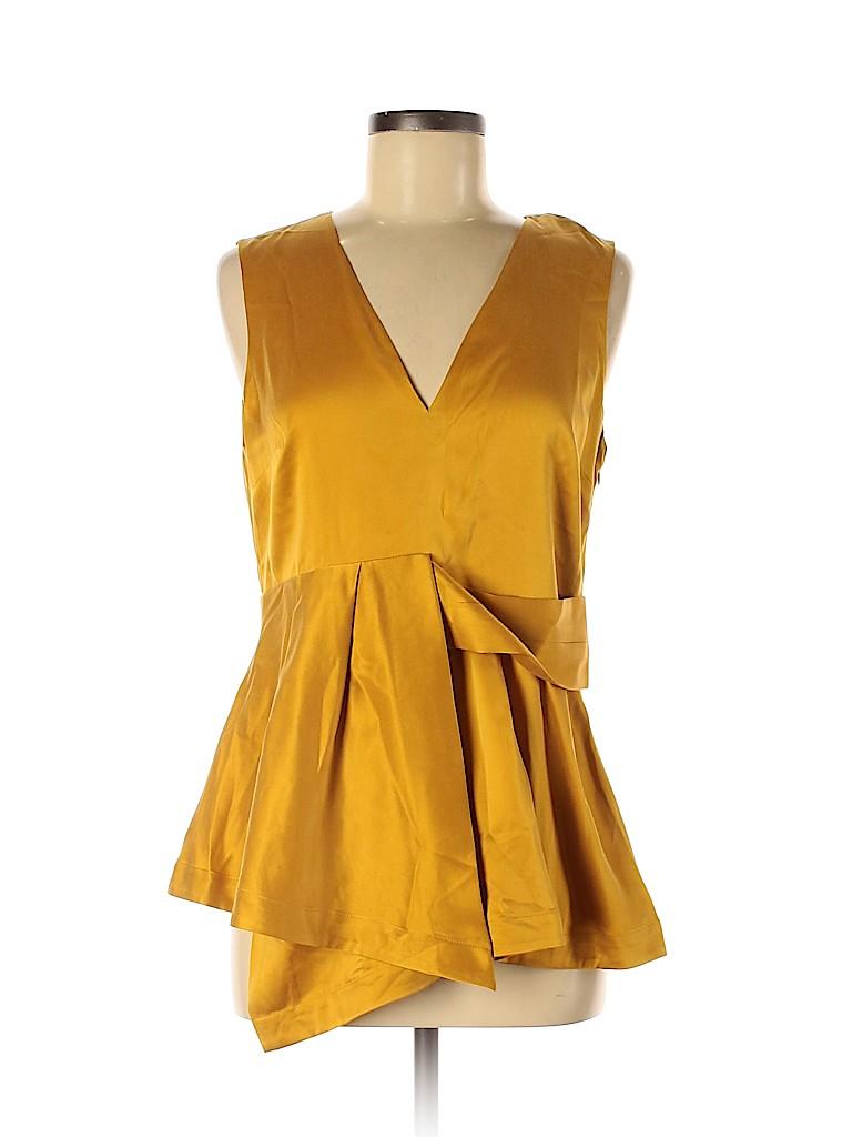 Banana Republic Women Sleeveless Silk Top Size 8