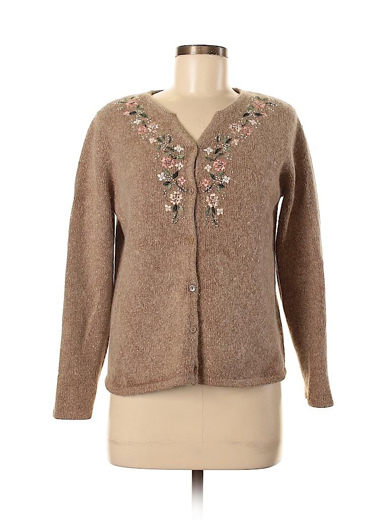 DressBarn Women Silk Cardigan Size M