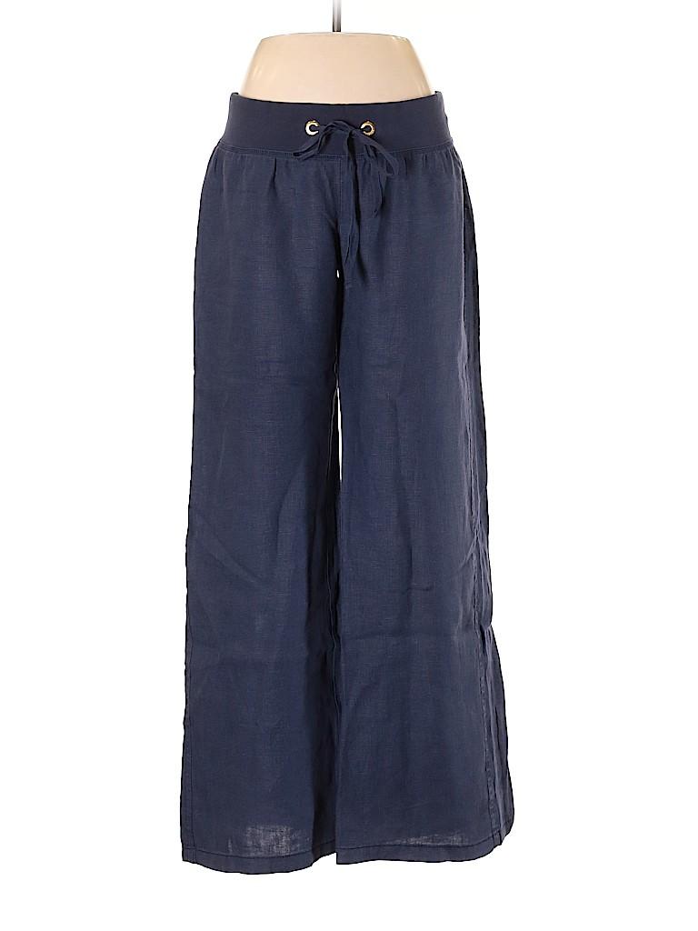 Lilly Pulitzer Women Linen Pants Size M