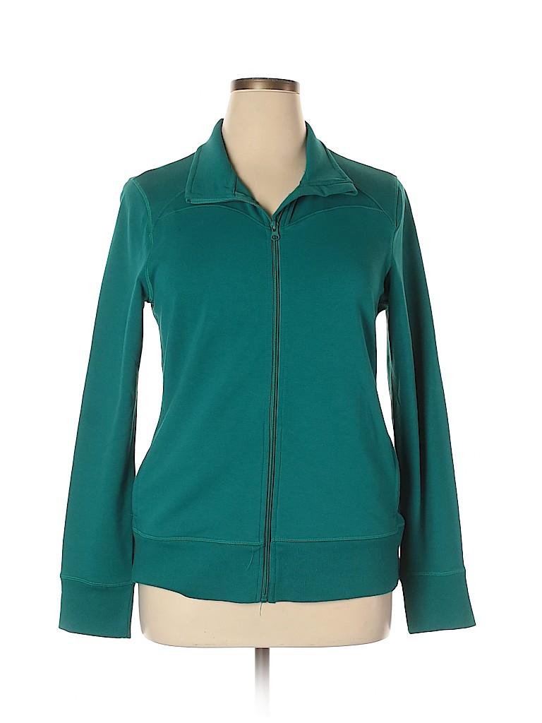 Athletic Works Women Track Jacket Size 16 - 18