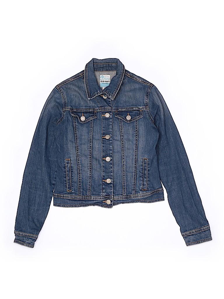 Old Navy Girls Denim Jacket Size X-Large (Youth)