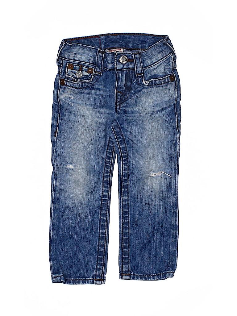 True Religion Boys Jeans Size 2