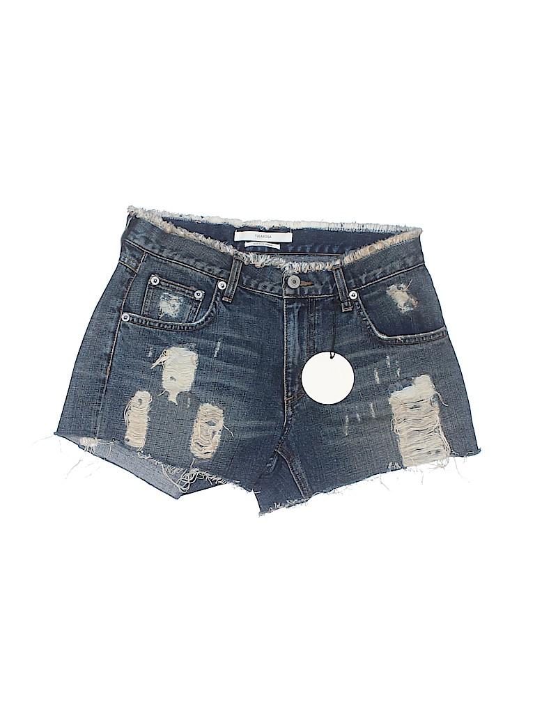 Tularosa Women Denim Shorts 25 Waist