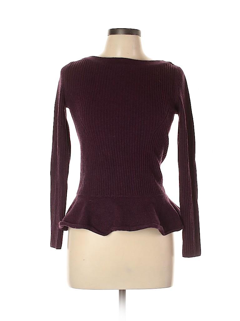 Tory Burch Women Wool Pullover Sweater Size L