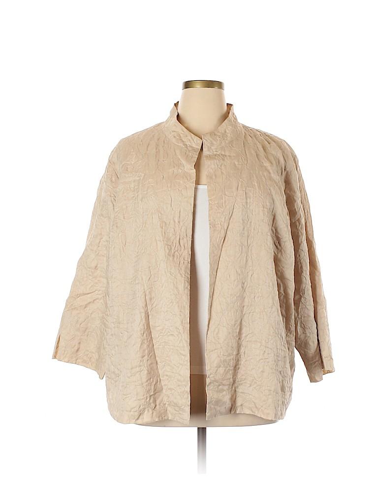 Eileen Fisher Women Jacket Size 3X (Plus)