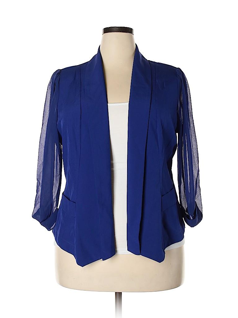 City Chic Women Blazer Size 18 Plus (M) (Plus)