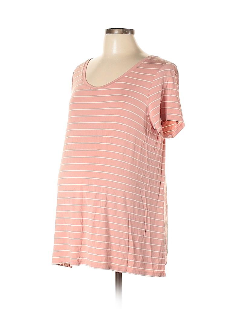 H&M Women Short Sleeve Top Size L (Maternity)