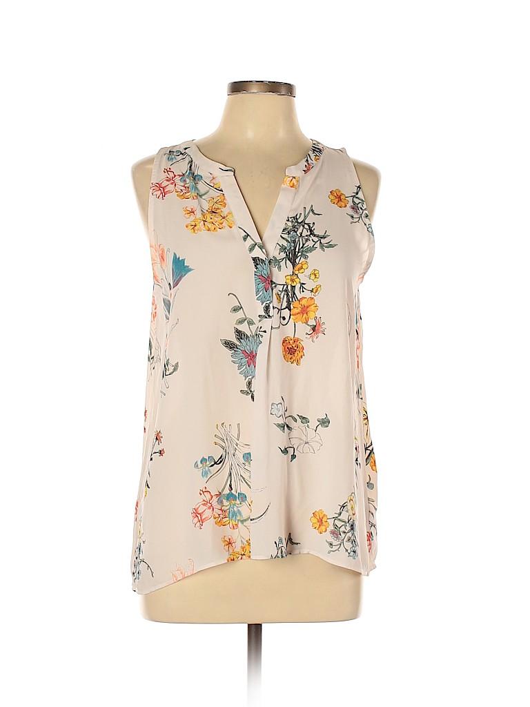 Lila Rose Women Sleeveless Blouse Size L