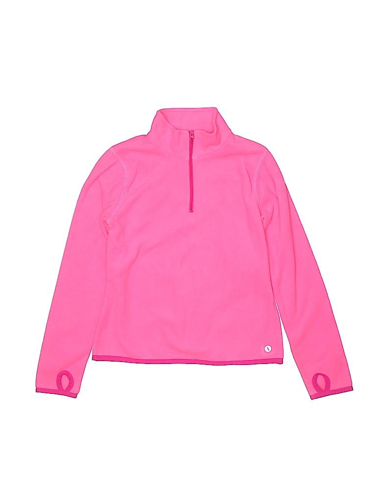 Xersion Girls Fleece Jacket Size 7/8