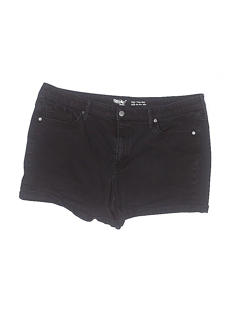 Mossimo Women Denim Shorts Size 18 (Plus)