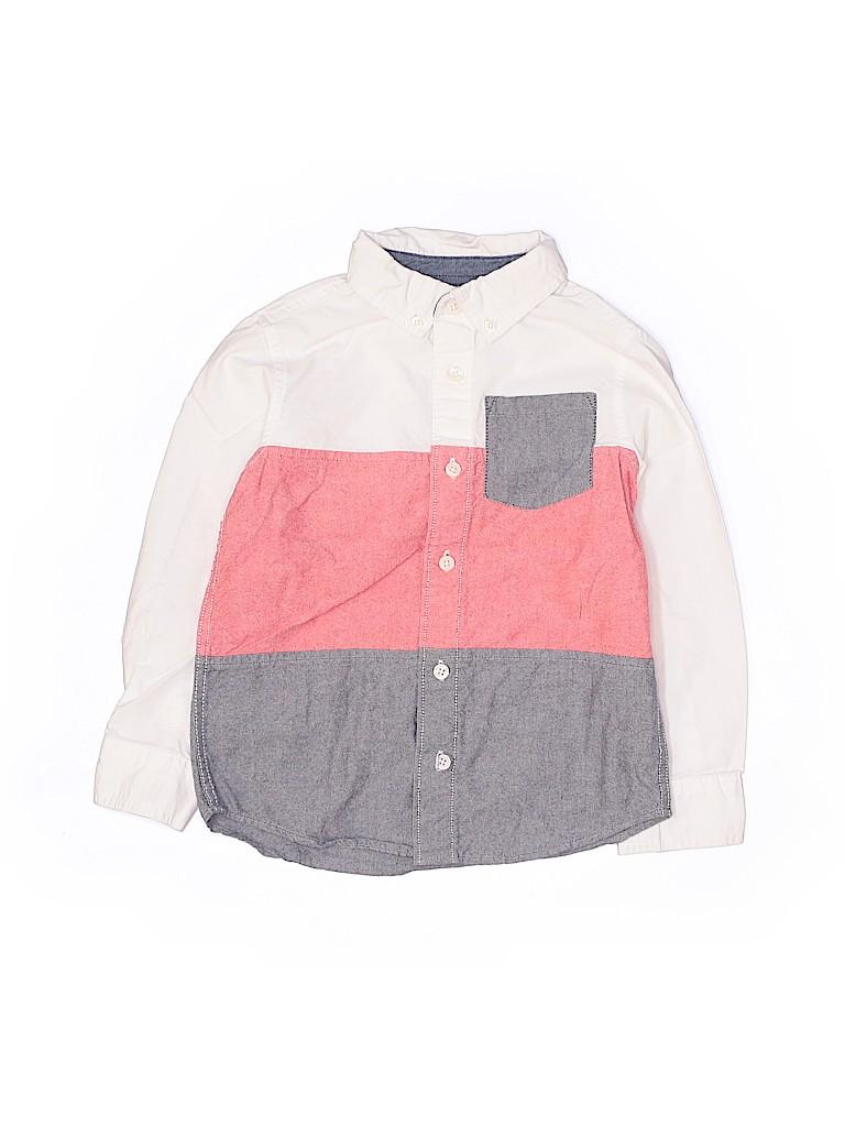 Gymboree Boys Long Sleeve Button-Down Shirt Size 5T