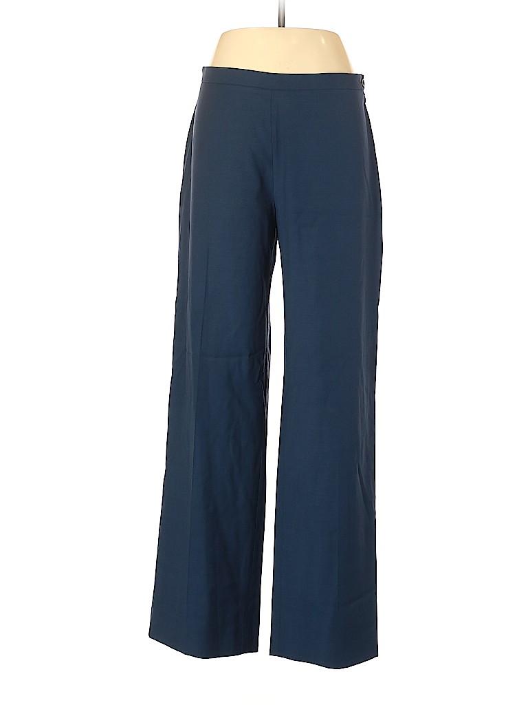 Bergdorf Goodman Women Wool Pants Size 48 (EU)