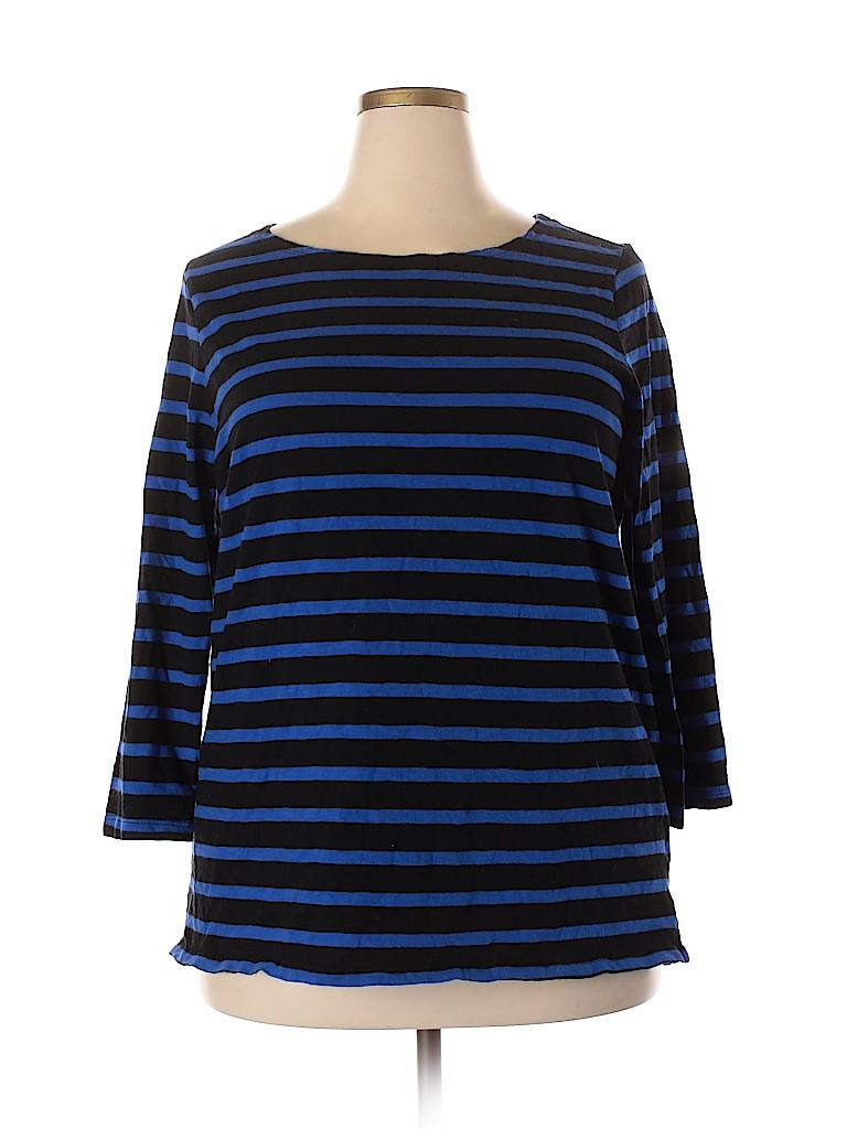 Old Navy Women 3/4 Sleeve T-Shirt Size XXL