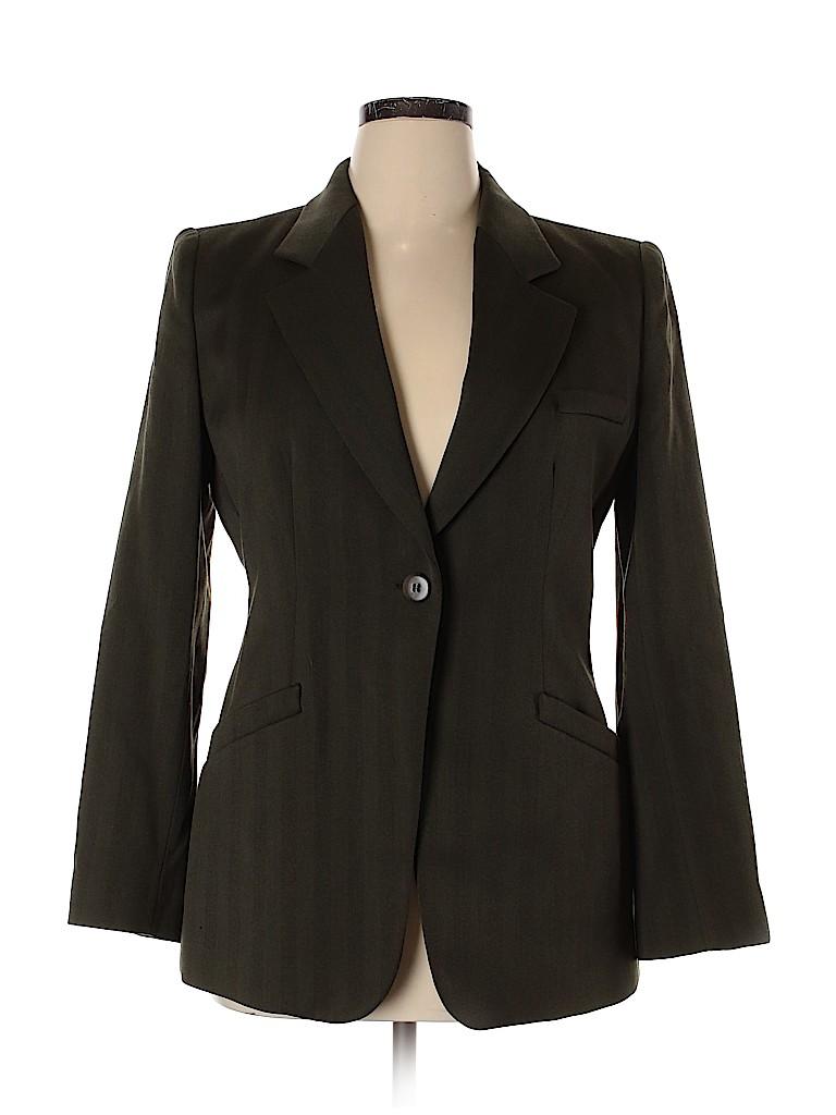 Armani Collezioni Women Wool Blazer Size 14