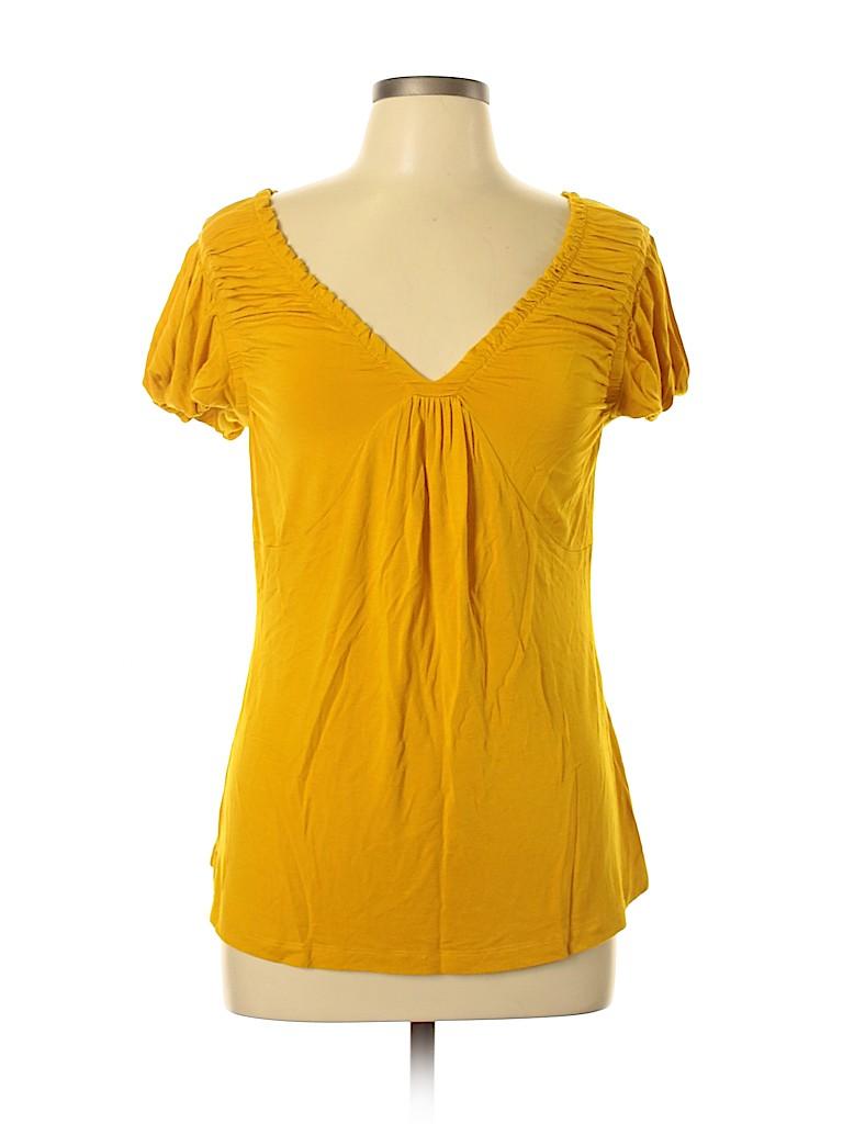 Design History Women Short Sleeve Top Size L