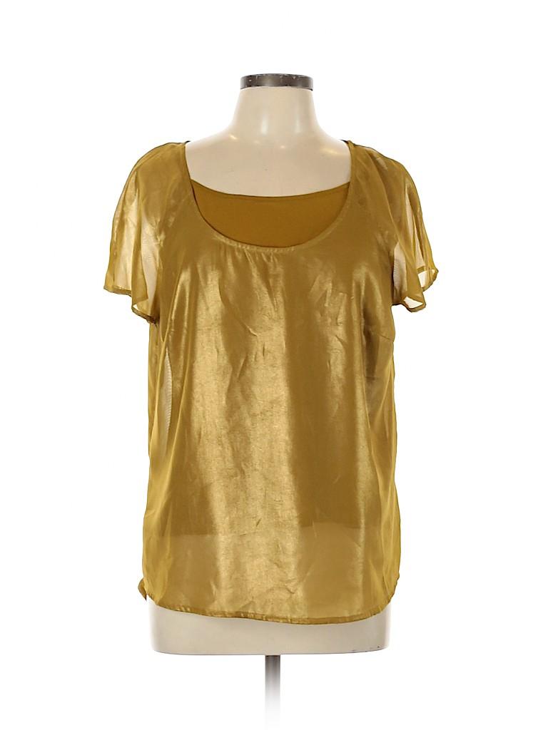 Mossimo Women Short Sleeve Blouse Size XL