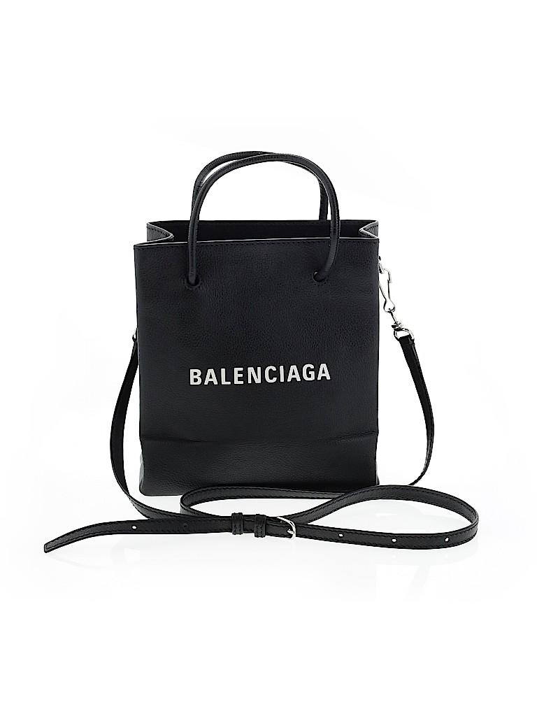 Balenciaga Women Leather Satchel One Size
