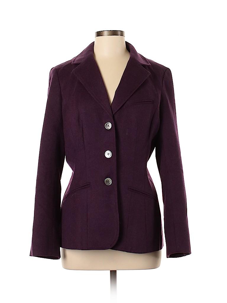 Eddie Bauer Women Wool Blazer Size M