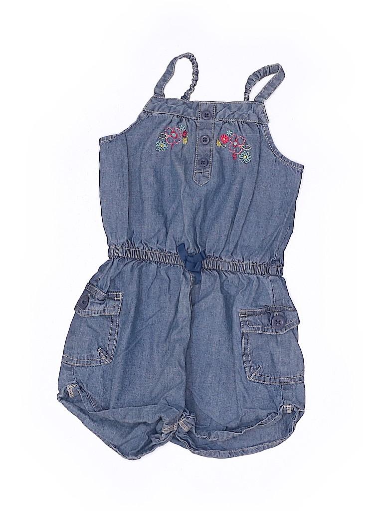 OshKosh B'gosh Girls Overall Shorts Size 4T