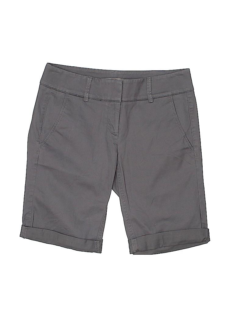 Ann Taylor LOFT Women Khaki Shorts Size 0
