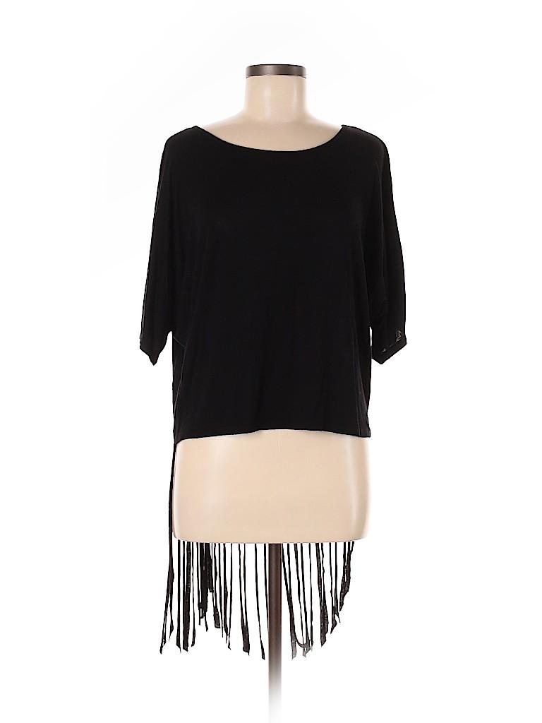 Romeo & Juliet Couture Women Short Sleeve Top Size L
