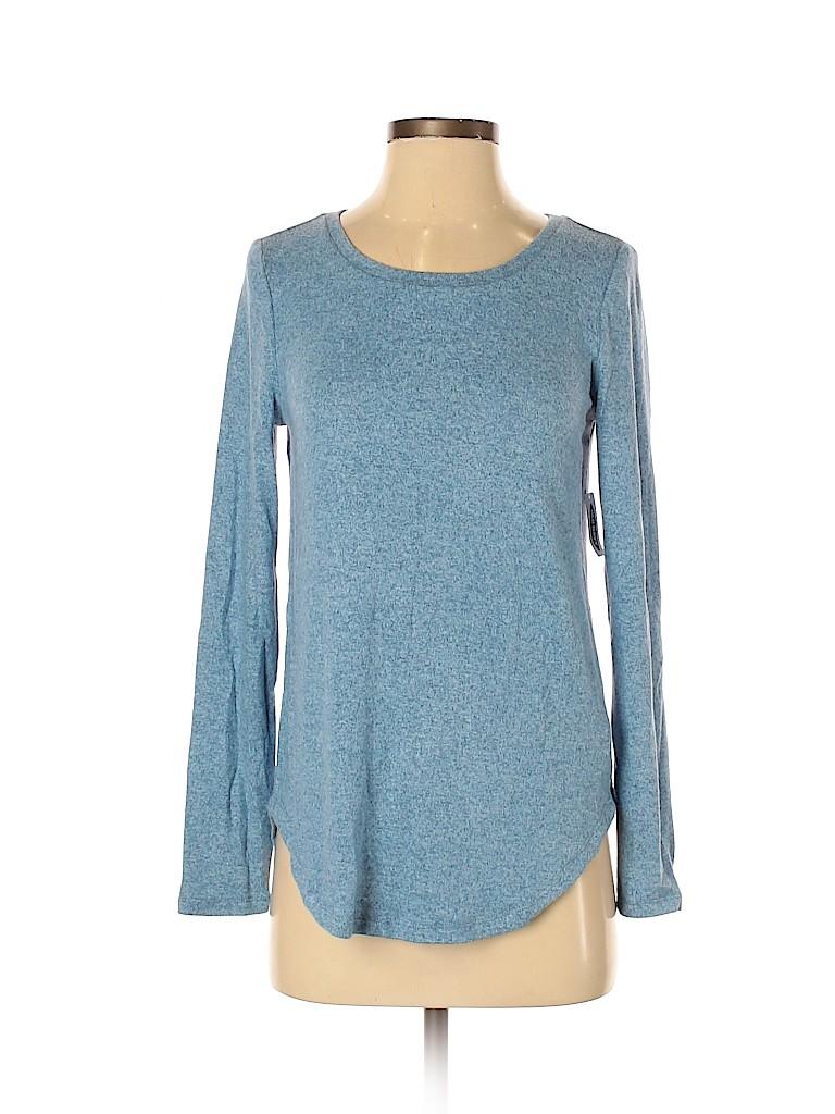 Old Navy Women Long Sleeve T-Shirt Size XS