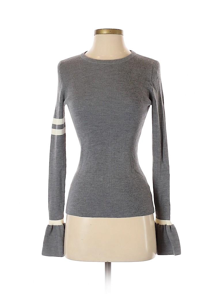 Akris Punto Women Wool Pullover Sweater Size 4