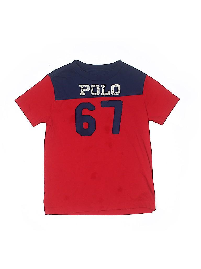 Polo by Ralph Lauren Boys Short Sleeve T-Shirt Size 7