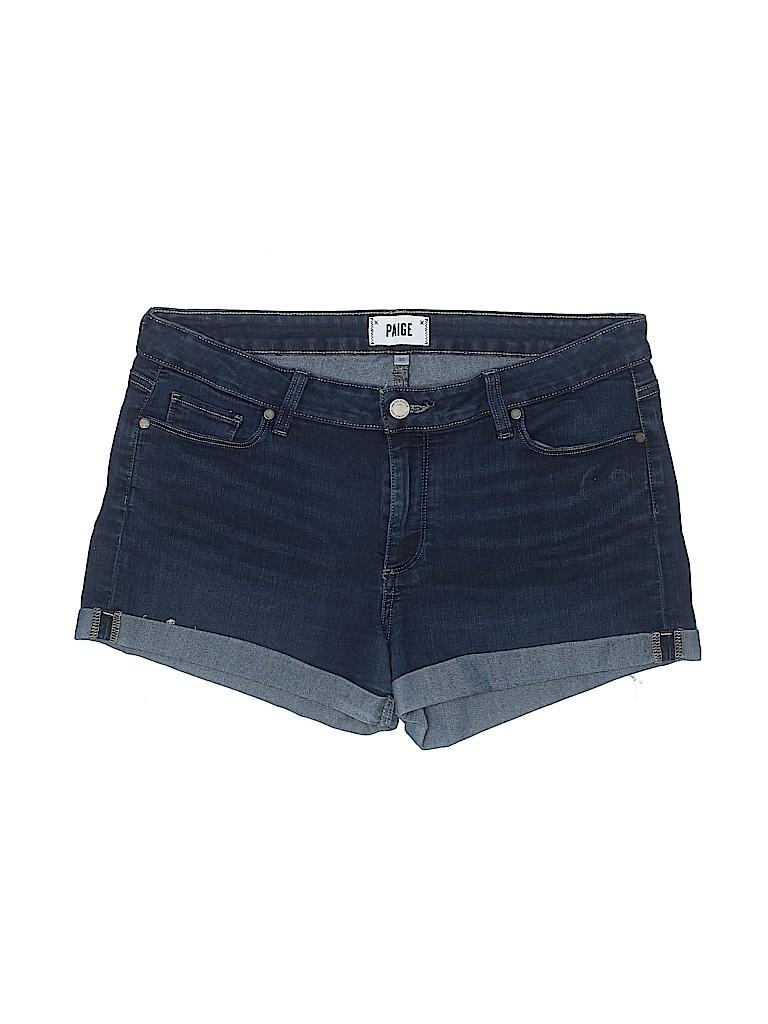 Paige Women Denim Shorts 30 Waist